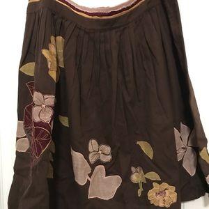 Viola pleated skirt  Size 10
